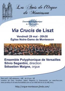 Ensemble polyphonique de versailles Via curcis de liszt